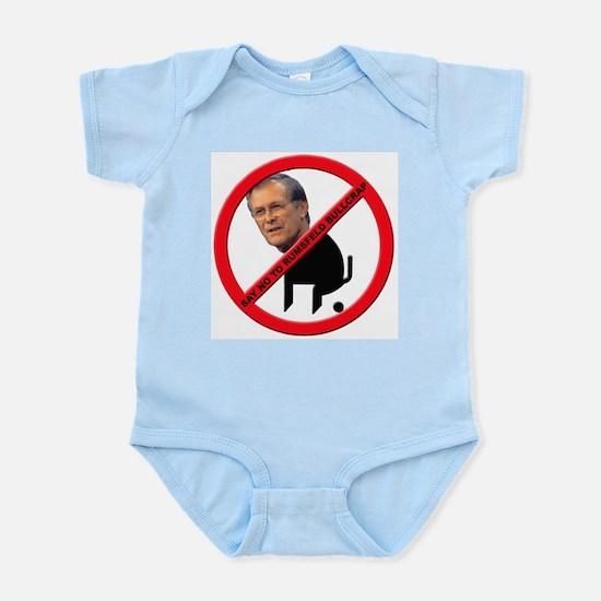 No Donald Rumsfeld Bullcrap Infant Creeper