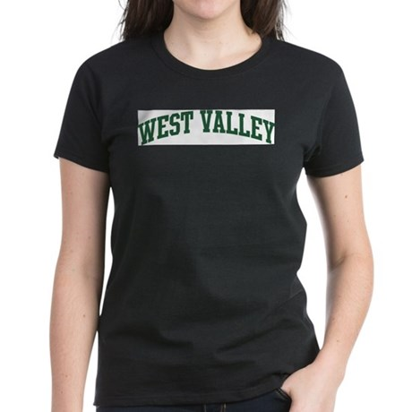 West Valley (green) Women's Dark T-Shirt