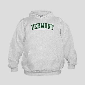 Vermont (green) Kids Hoodie