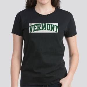 Vermont (green) Women's Dark T-Shirt