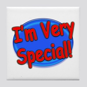 I'm Very Special Tile Coaster