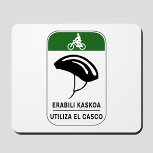 Use The Helmet, Spain Mousepad
