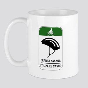 Use The Helmet, Spain Mug