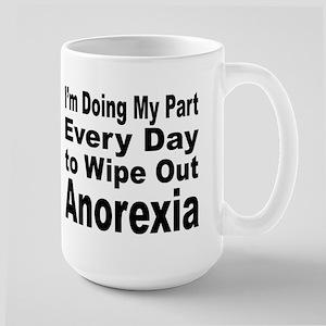 Anorexia Anti Diet Large Mug