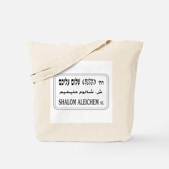 Shalom Aleichem St., Tel Aviv, Israel Tote Bag