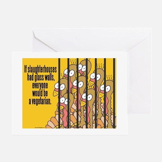 Vegetarian Vegan Greeting Card