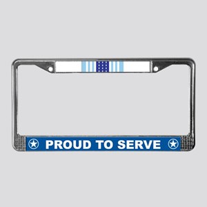 Air Force Overseas License Plate Frame
