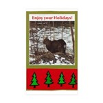 Enjoy Your Holiday! by Khonce Rectangle Sticker 5