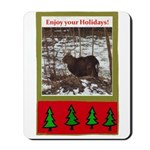 Enjoy Your Holiday! by Khonce Mousepad