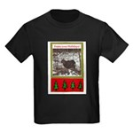 Enjoy Your Holiday! by Khonce Kids Dark T-Shirt