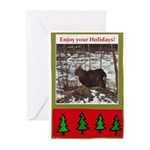 Enjoy Your Holiday! by Khonce Greeting Cards (Pk o
