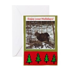 Enjoy Your Holiday! by Khonce Greeting Card