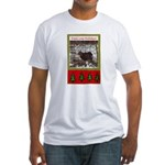 Enjoy Your Holiday! by Khonce Fitted T-Shirt