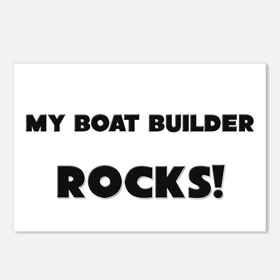 MY Boat Builder ROCKS! Postcards (Package of 8)