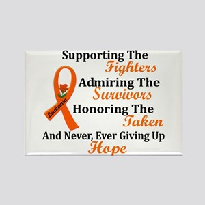 Supporting Admiring Honoring 2 LEUKEMIA Rectangle