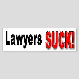 Lawyers Suck Bumper Sticker