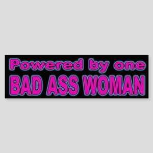 Woman Power Bumper Sticker for Stong Women