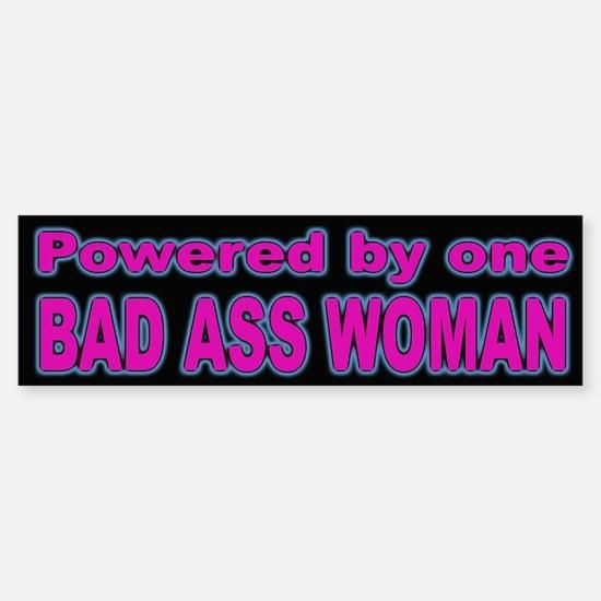 Woman Power Bumper Sticker for Stong Women