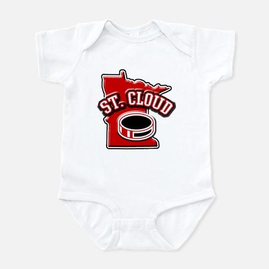 St. Cloud Hockey Infant Bodysuit