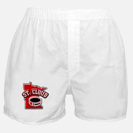 St. Cloud Hockey Boxer Shorts
