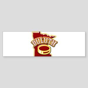 Duluth Hockey Bumper Sticker
