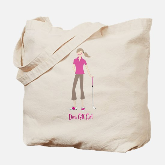 Diva Golf Girl - Tote Bag