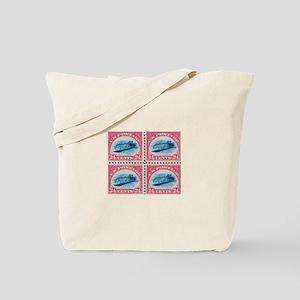US stamp 24c Inverted Jenny Tote Bag