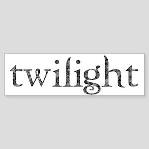 Twilight Bumper Sticker