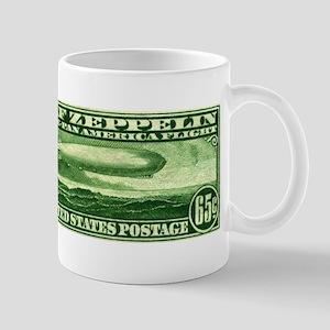 US stamp 65c Graf Zeppelin Mug