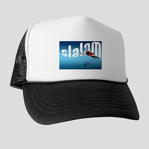 Slalom WaterSkier Trucker Hat