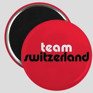 Team Switzerland Magnet