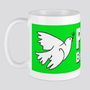 Peace Be With You Mug