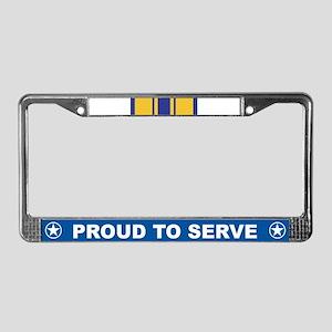 Commendation License Plate Frame
