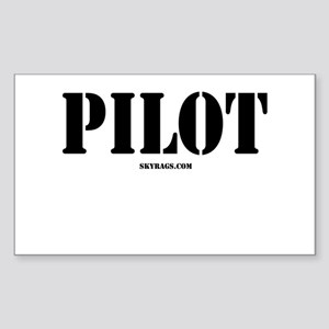 PILOT Rectangle Sticker