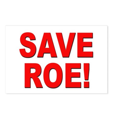 Save Roe Pro Choice Postcards (Package of 8)