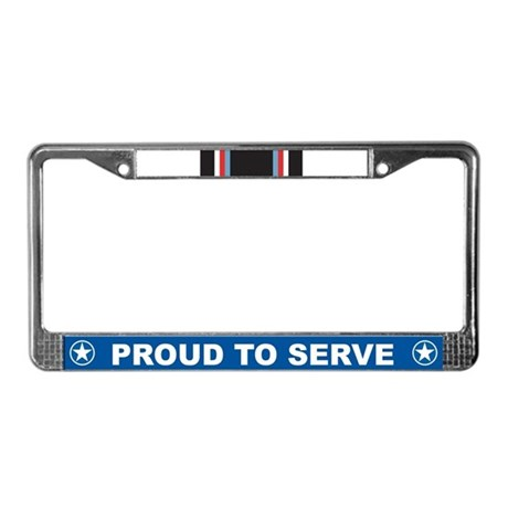 Training Instructor License Plate Frame