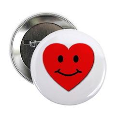 Smiley Heart Love Button