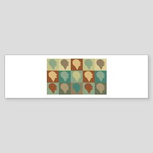 Speech Language Pathology Pop Art Bumper Sticker