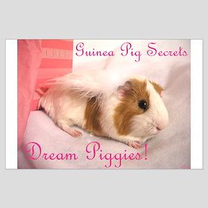 Dream Piggies Large Poster