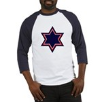 Jewish Star Baseball Jersey