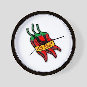 Hot Stuff Pepper Wall Clock