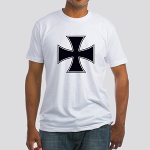 Iron Cross (Front) Fitted T-Shirt