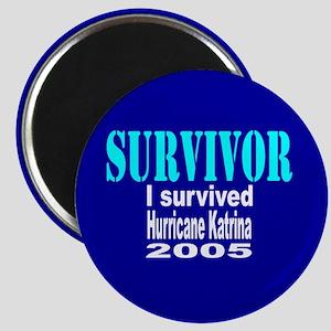 Hurricane Katrina Survivor Magnet