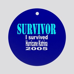 Hurricane Katrina Survivor Keepsake (Round)