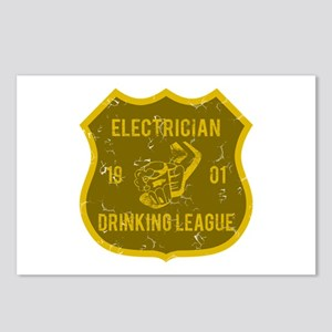 Electrician Drinking League Postcards (Package of