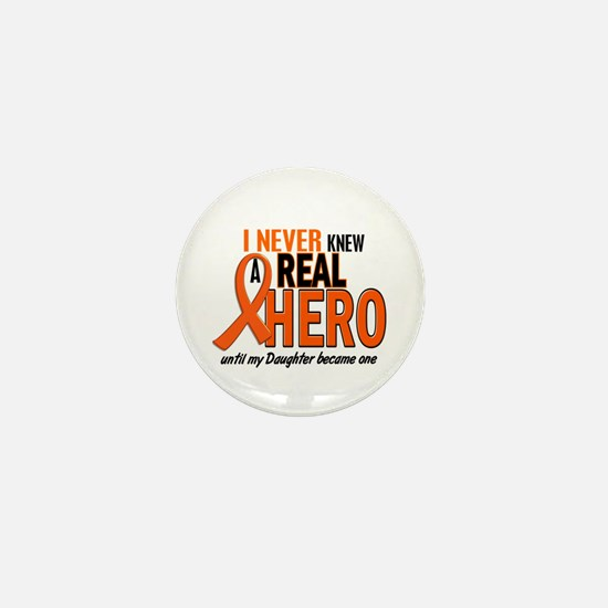 Never Knew A Hero 2 ORANGE (Daughter) Mini Button