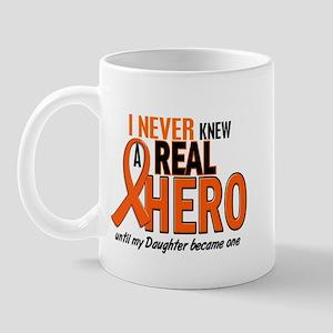 Never Knew A Hero 2 ORANGE (Daughter) Mug