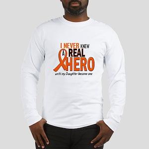 Never Knew A Hero 2 ORANGE (Daughter) Long Sleeve