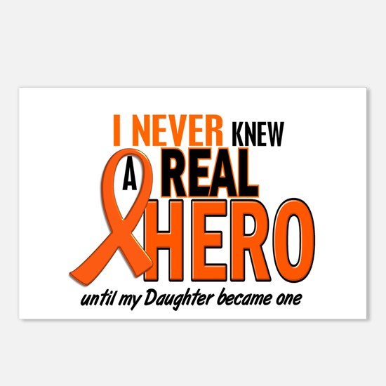 Never Knew A Hero 2 ORANGE (Daughter) Postcards (P