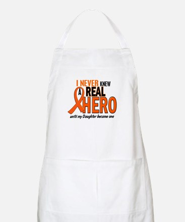 Never Knew A Hero 2 ORANGE (Daughter) BBQ Apron